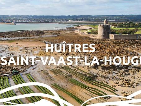 NOUVEAU DANS VOTRE POISSONNERIE Huîtres SAINT VAAST LA HOUGUE de l'île de Tatihou.