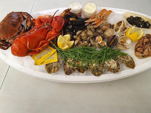 poissonnerie-écailler-traiteur- plateaux de fruits de mer- huîtres- crustacés-la-passion-du-gout-livraison-domicile