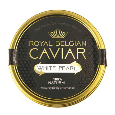 Royal belgian caviar white pearl-caviar-plaisir
