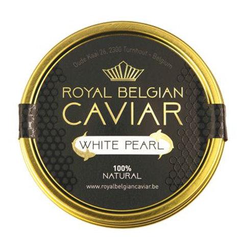 caviar plaisir boutique en ligne ligne de caviar livraison belgique luxembourg royal belgian caviar white pearl