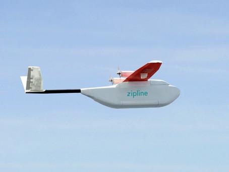 Drones to Drop Supplies Over Rwanda
