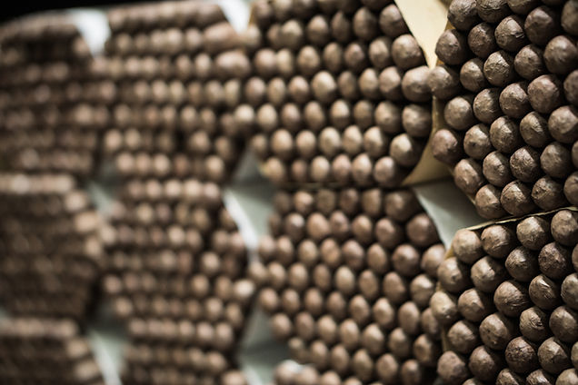 Bündel von Zigarren
