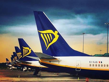 Ryanair : ΠΤΗΣΕΙΣ ΑΠΟ 12.99€ σε όλη την Ευρώπη