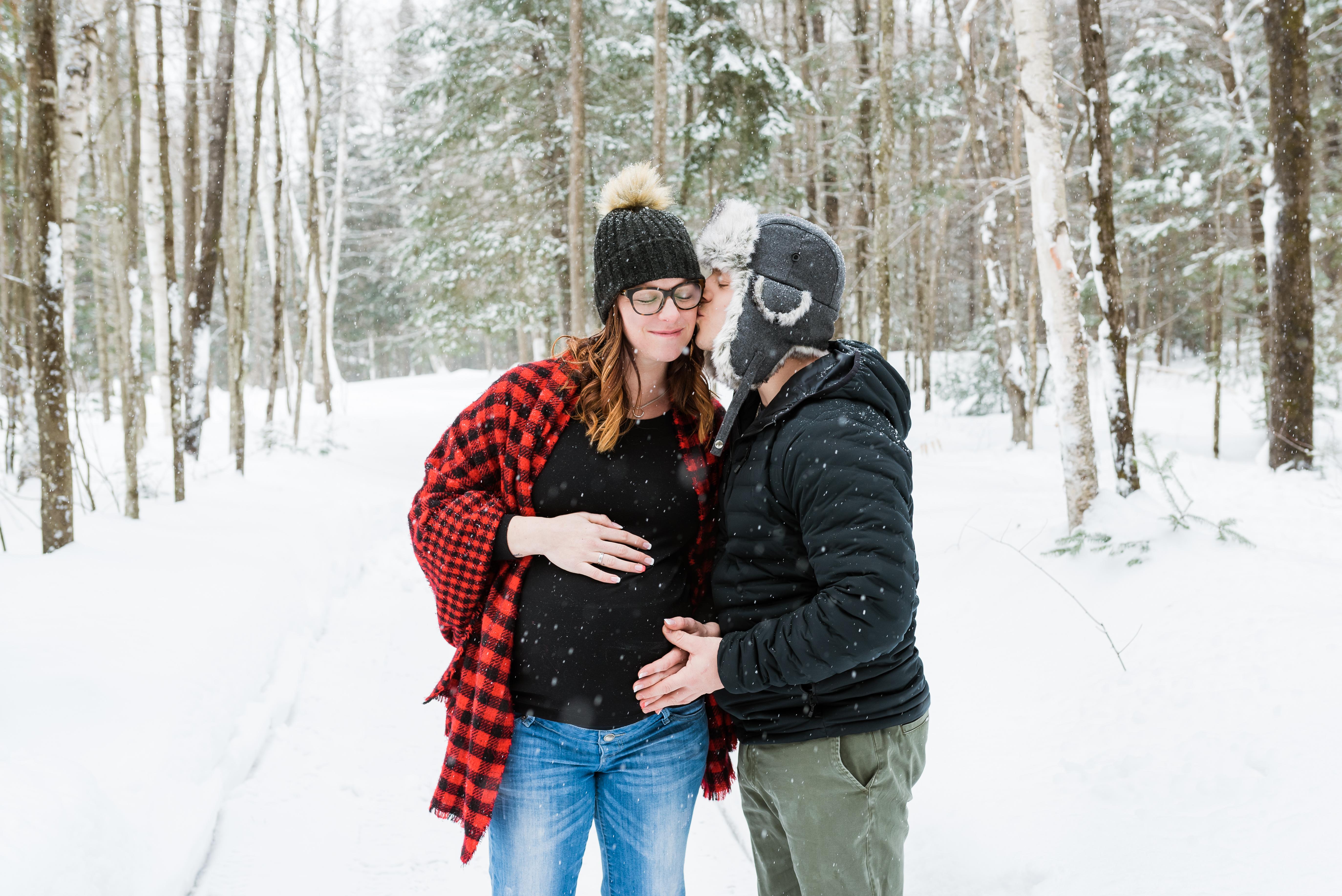Forfait photos séance maternité
