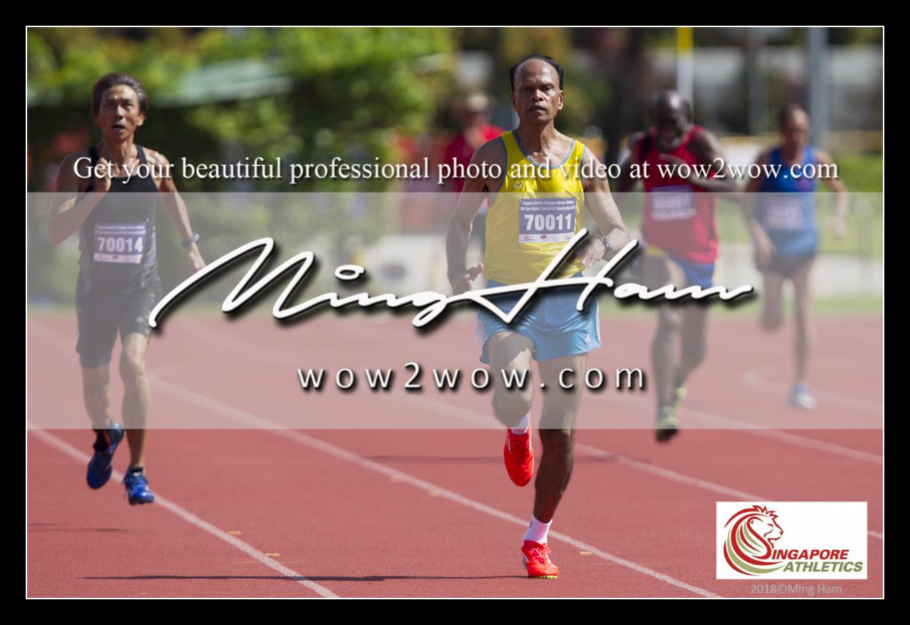 2018_Singapore Masters_0521 [Men M70 200m running 70014 70011 winner]