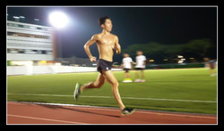 Soh Rui Yong track workout photo