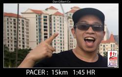 Dan Gilbert Co 15km 145HR