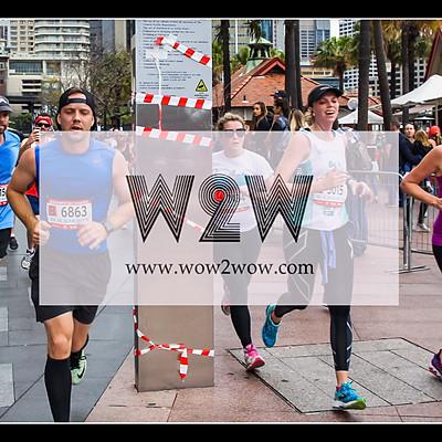 Blackmore Sydney Running Festival 2016 (finishing)
