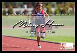 2018_Singapore Masters_0356 [Women M60 200m winner running SMA 60016]