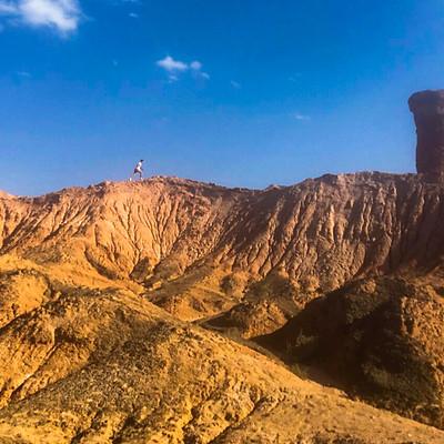 Devil's Ridge, Gobi desert (Yumen City, China)
