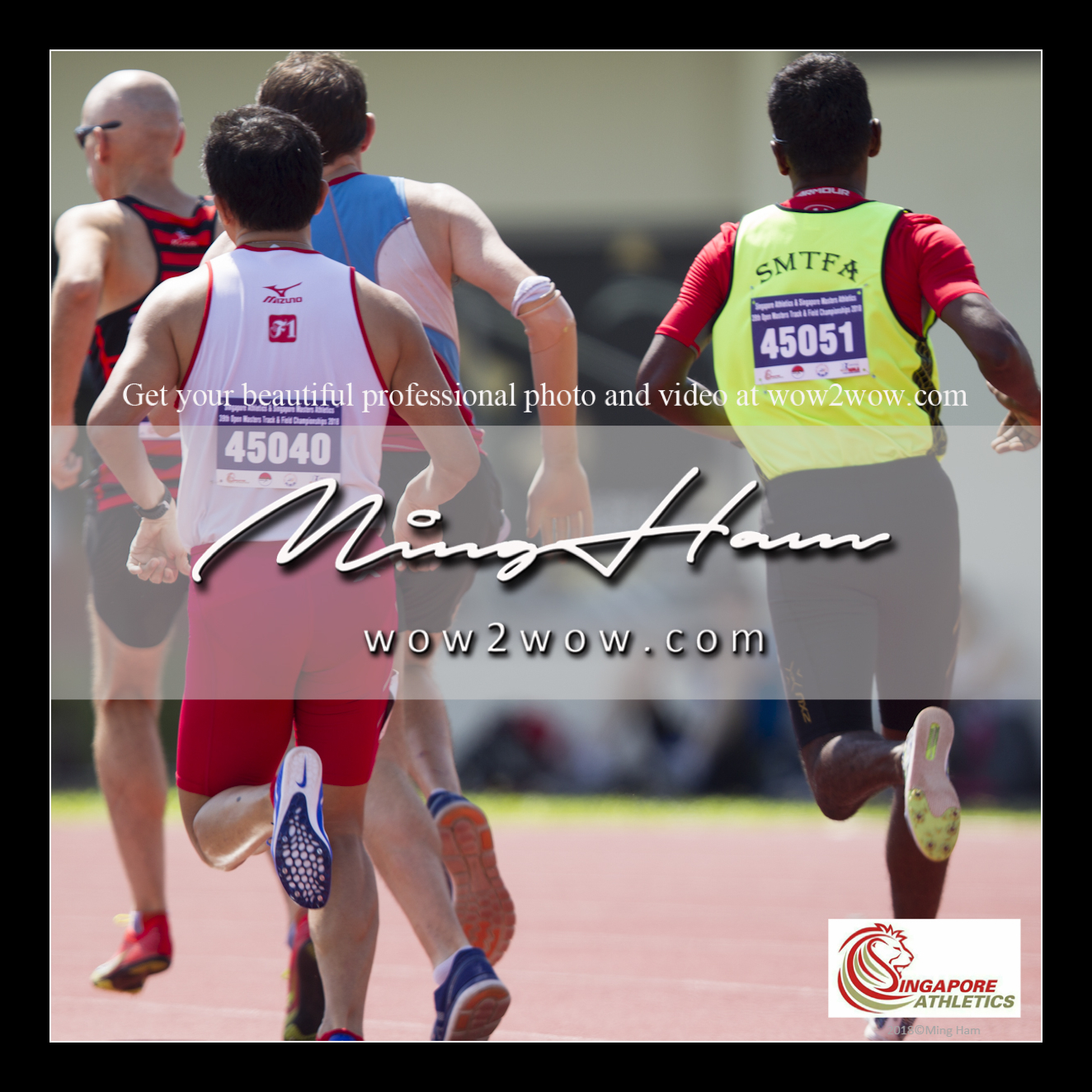 2018_Singapore Masters_0718 [Men M45 800m running back view 45051 SMTFA and 45040 F1 Koh Leong]