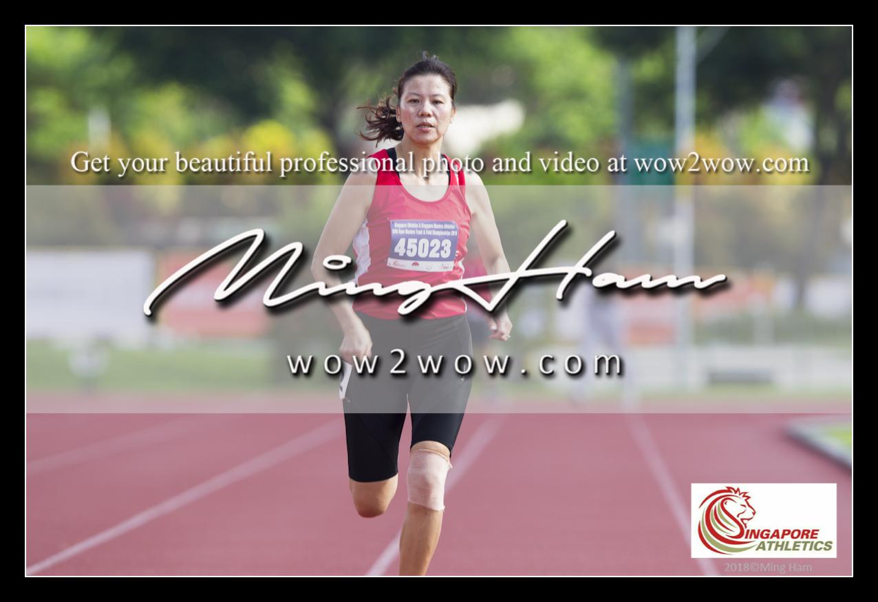 2018_Singapore Masters_0295 [Women M45 200m winner running 45023]