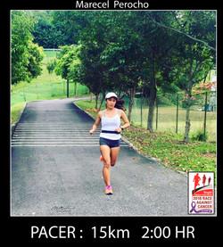 #26 Marecel  Perocho 15km 2HR