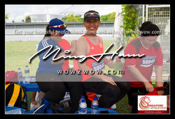2018_Singapore Masters_0826 [Men M50 100m 50040 Esmond Choo and wife]
