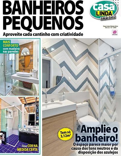 2018 - Novembro - Revista Banheiros Pequ
