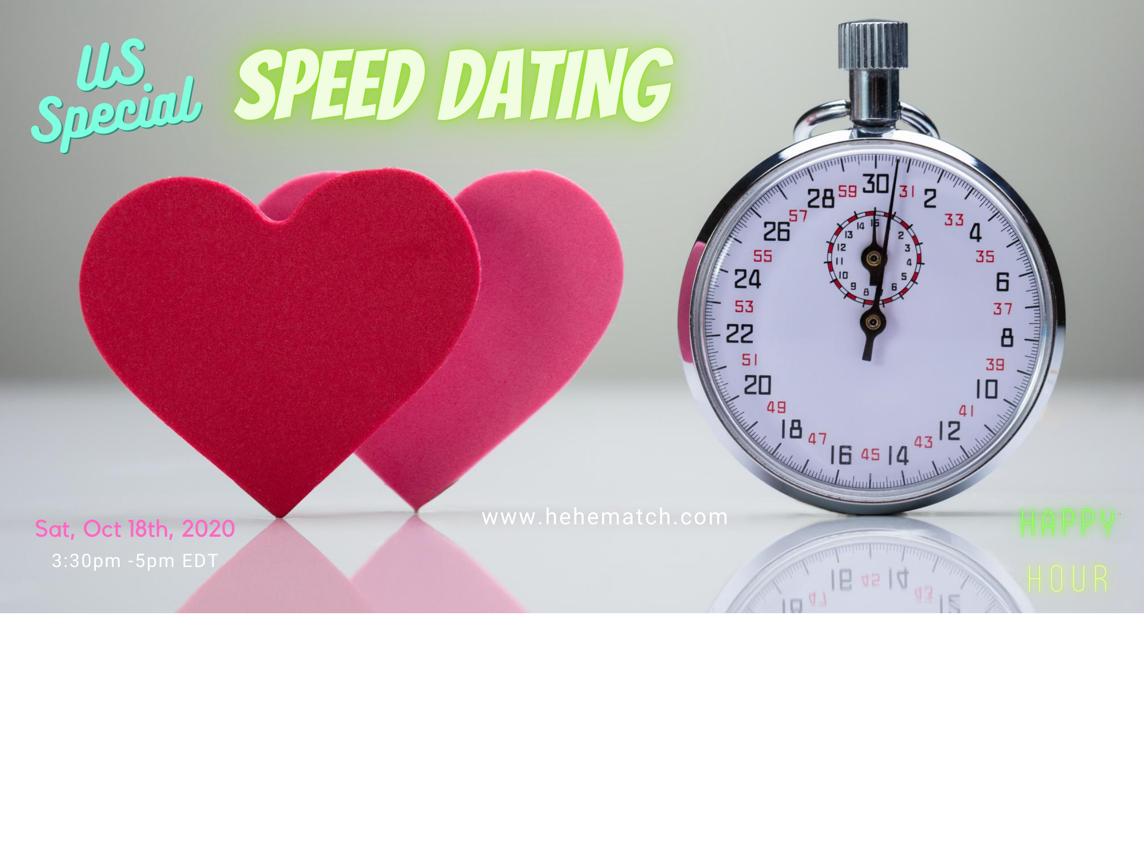 Speed Dating - (US special - 6/8)