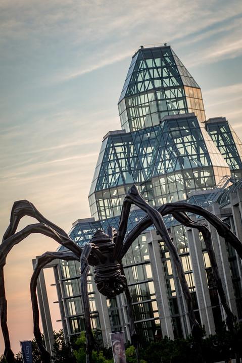 Maman Statue Ottawa National Art Gallery