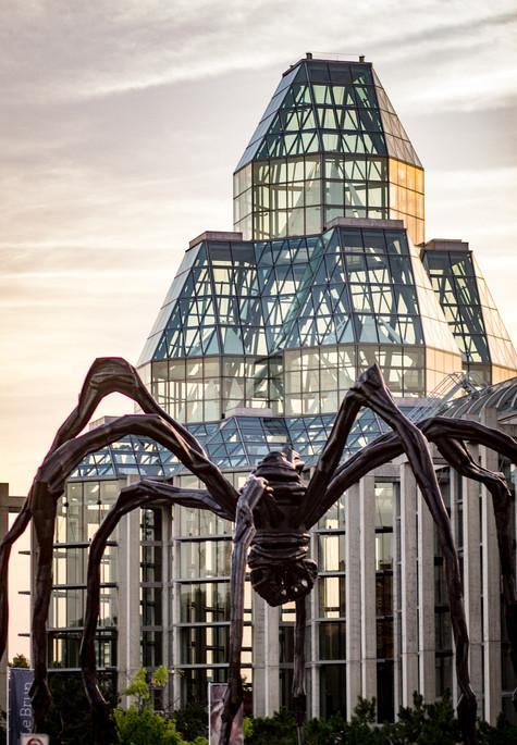 Maman at National Art Gallery Ottawa