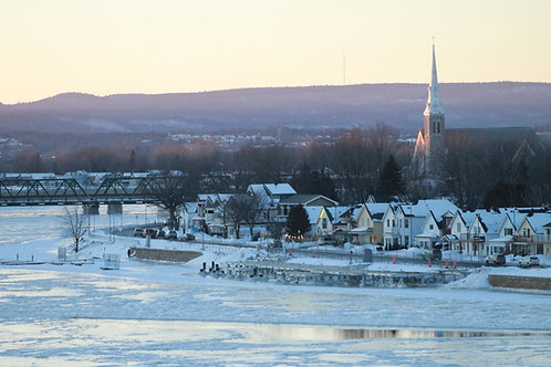 Winter across the River