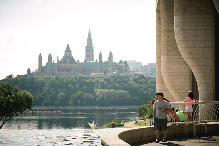 A View of the Parliament of Canada from Gatineau
