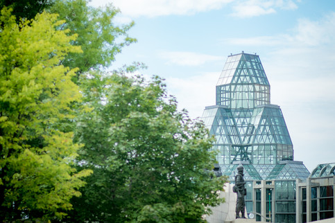 National Art Gallery in Ottawa Ontario in Summer