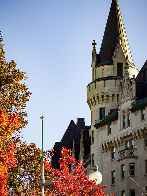 Chateau in the Fall