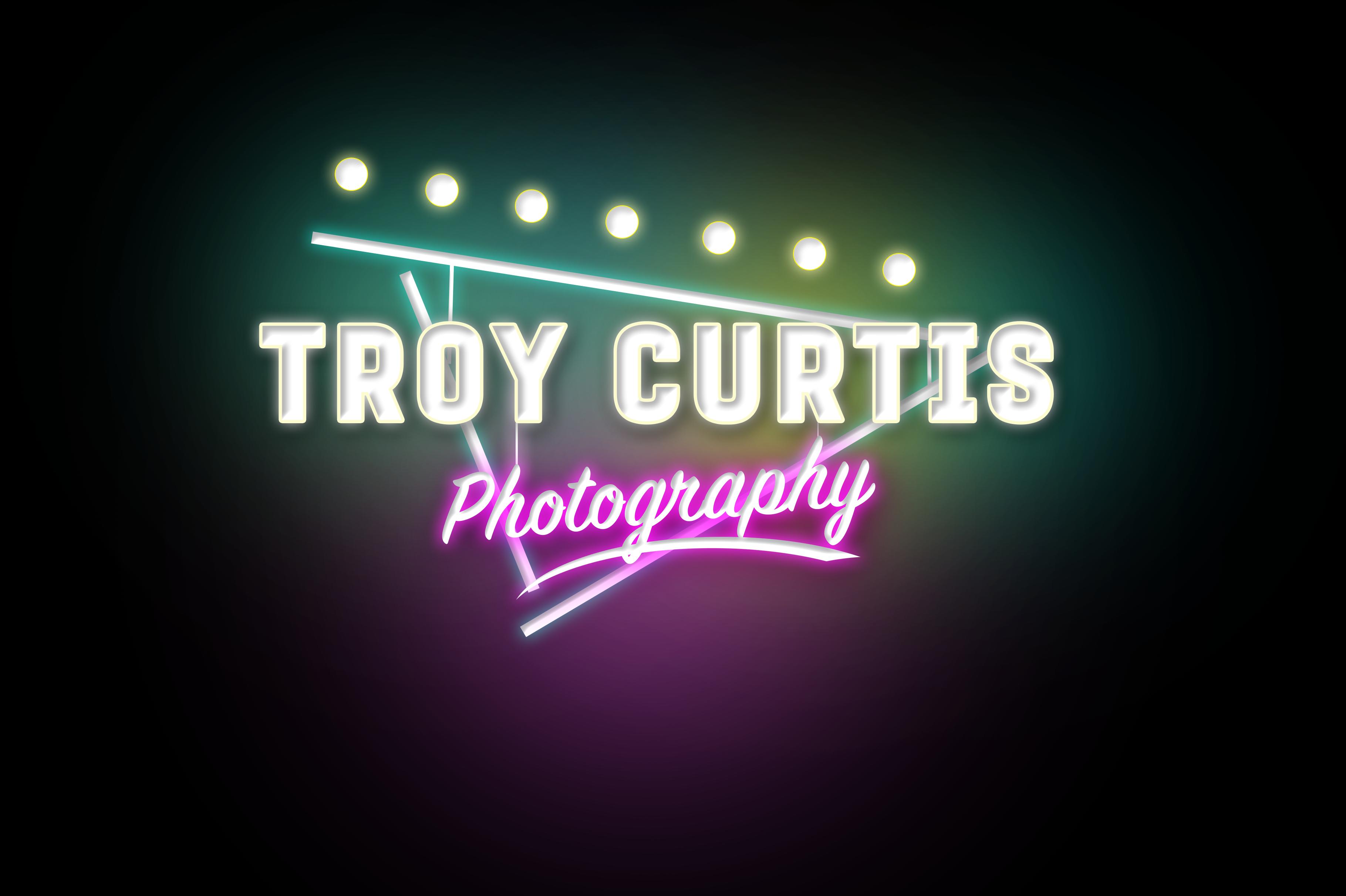 Photography Logo Neon