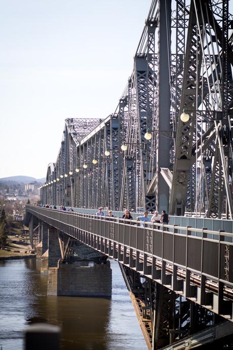 Alexandria Bridge in Ottawa ON