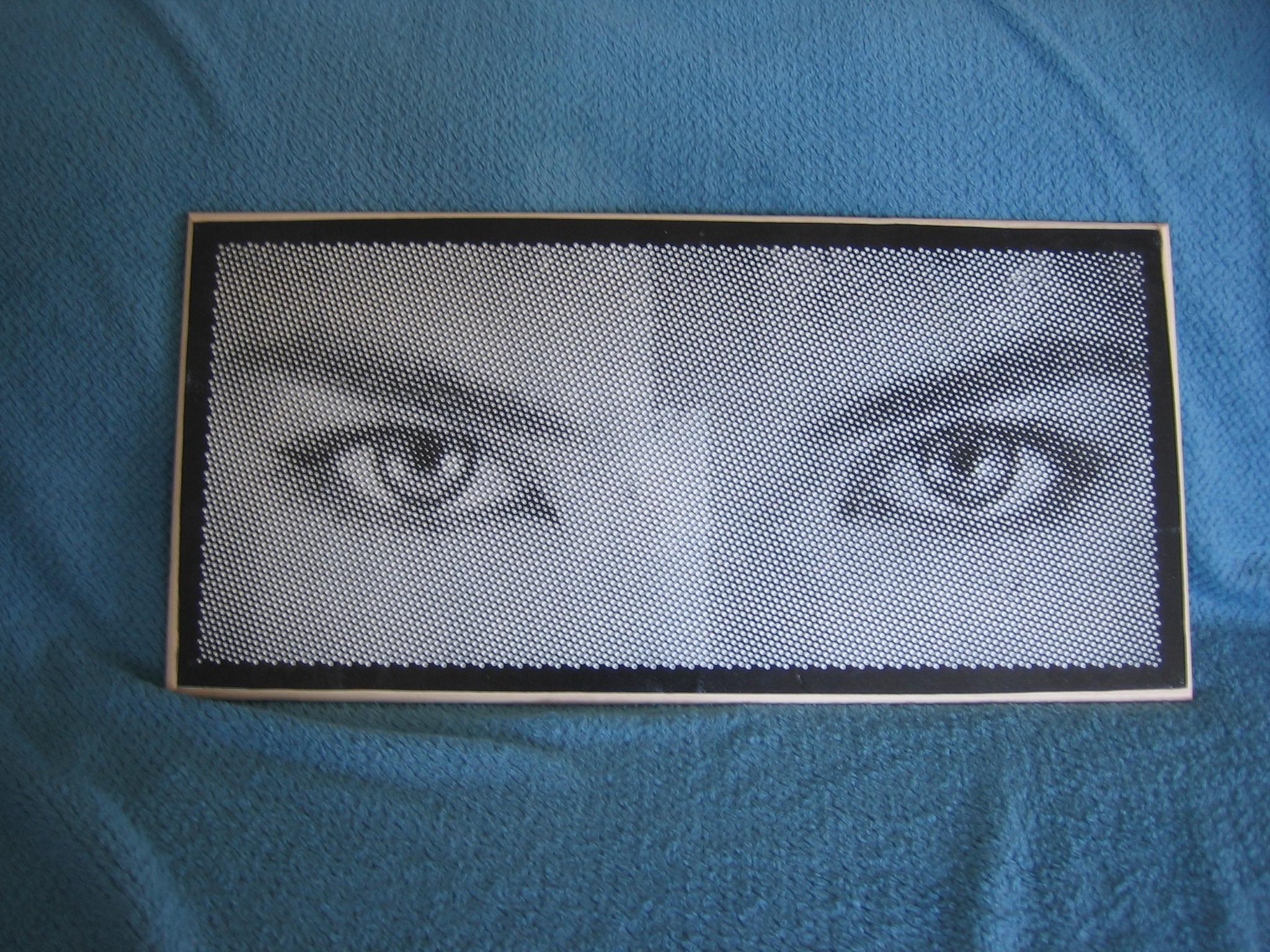 Eyes Halftone Art