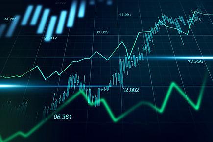 mercado-bursatil-o-forex-grafico-concept