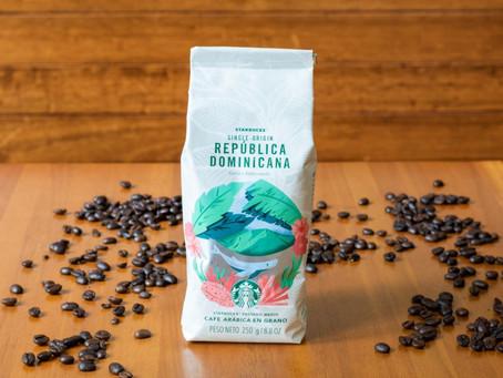 Pela primeira vez na história da marca, Starbucks® lança um café da República Dominicana