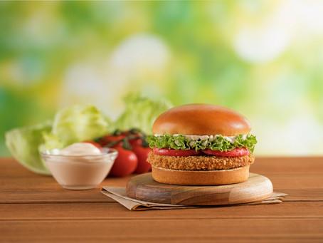 Bob's inova mais uma vez e lança segunda versão de hambúrguer vegetal à base de plantas
