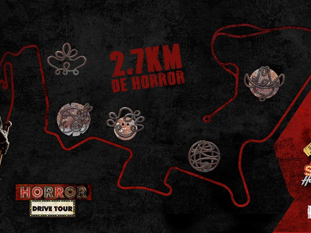 """Com formato inédito Hopi Hari estreia """"Horror Drive Tour"""" em Setembro"""