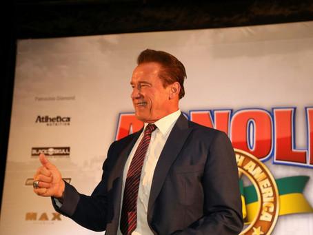 Schwarzenegger volta ao Brasil em 2019 para a sétima edição do Arnold Sports Festival South America
