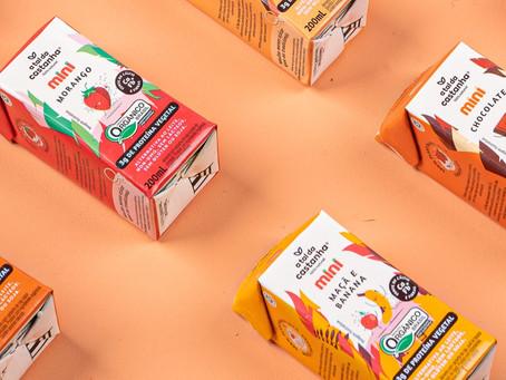 Nova bebida vegetal rica em cálcio para as crianças