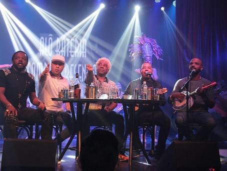 Ivo Meirelles se reúne com Xande de Pilares, Dudu Nobre, Arlindinho, Andrézinho do Molejo e Salgadin