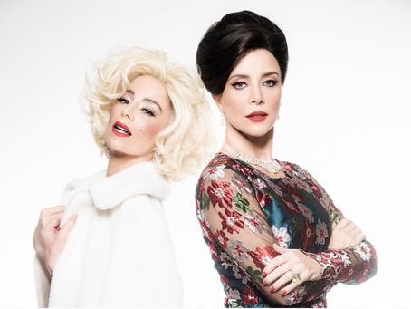 Com Danielle Winits e Christine Fernandes  é revivida uma cena icônica nos palcos paulistas