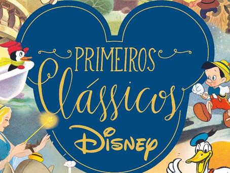 """Disney lança """"Caixa Clássicos""""  em comemoração aos 75 anos de parceria com Melhoramentos"""