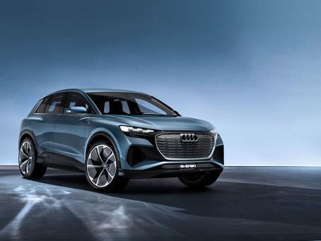 Audi apresenta Q4 e-tron conceito no Salão de Genebra