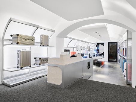 RIMOWA inaugura loja no centro de Salzburgo
