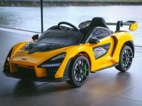 McLaren Senna 'Ride-On' é o mais recente lançamento no setor de brinquedos elétricos em 2020