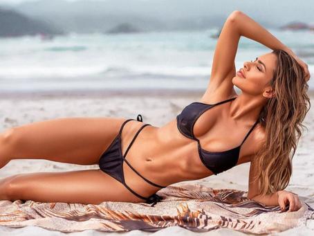 """Erika Schneider fala sobre mudanças no corpo: """"A beleza existe quando você se ama"""""""