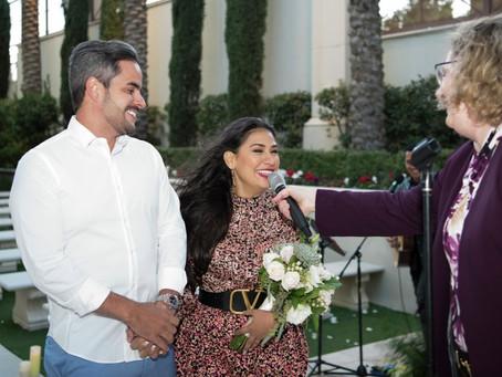 Simone renova os votos com Kaká Diniz, em Las Vegas
