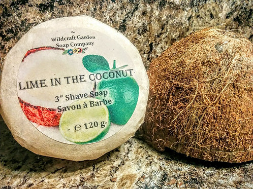 Lime in the Coconut  - Unisex Shaving Soap
