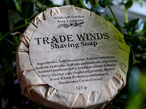Trade Winds Scent - Shaving Soap