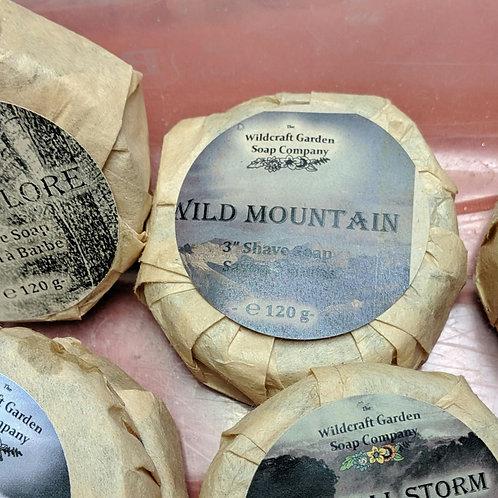 Wild Mountain Scent - Shaving Soap