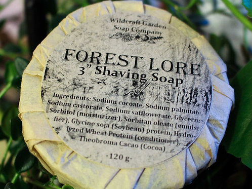 Forest Lore Scent - Shaving Soap