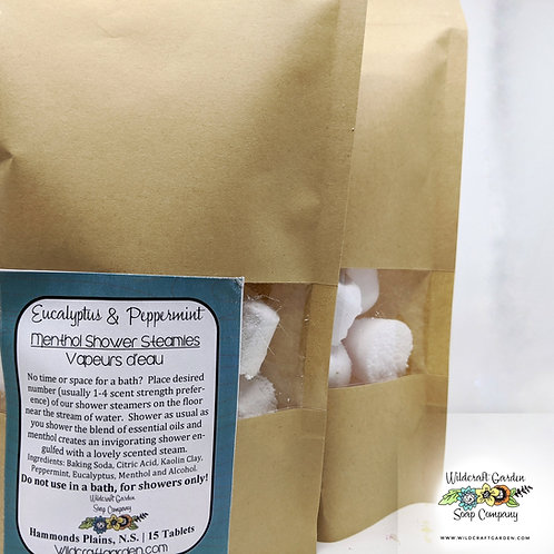 Aromatherapy Shower Steamies with Menthol