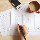 Designer ux wireframe