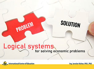 Logical systems for solving economic pro